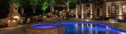 pool landscape lighting mckay landscape lighting