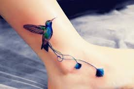 vibrant ankle tattoo designs creativefan