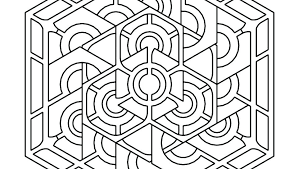 printable coloring pages for adults geometric printable geometric coloring pages www glocopro com