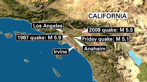 Newport Inglewood Fault Map Earthquake Los Angeles U2014 Latest News Images And Photos