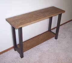 oak sofa tables 12 best steel and wood furniture images on pinterest table legs