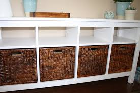 Hemnes Sofa Table Hemnes Sofa Table Baskets Furniture Definition Pictures