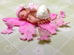 butterfly cake toppers sweet baby girl on a butterfly cake topper made of vanilla