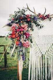 Wedding Arches Tasmania Gallery Colourful Boho Macrame Wedding Arch Backdrop Deer Pearl