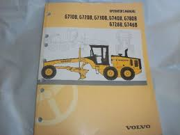 vce motor grader operator u0027s manual for g710b g720b g730b g740b