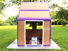 What Is A Lanai In A House How To Make A Weatherproof Cardboard Box Fort Diy Network Blog