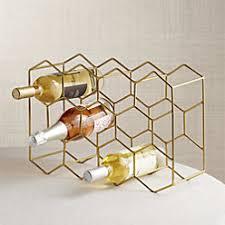11 bottle wine rack copper crate and barrel