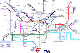 London Metro Map by London Underground Map In 1996 By Andrewtiffin On Deviantart
