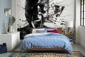 papier peint design chambre papier peint design le cri izoa