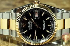 rolex steel oyster bracelet images Rolex datejust 18k gold steel mens 36mm oyster bracelet never jpg