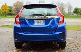 What Year Did The Honda Fit Come Out Car Review 2015 Honda Fit Ex L Navi Driving