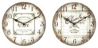 horloge pour cuisine moderne pendule murale cuisine pendule murale actanche ronde cadran blanc