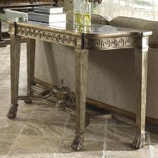marble sofa table grecian style marble topped sofa table by fine furniture design