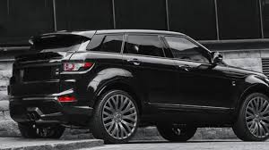 matte black range rover price kahn design does its thing on the range rover evoque