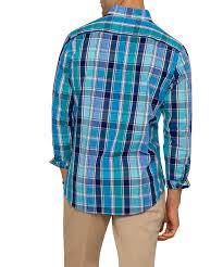 tartan vs plaid van heusen mens casual shirt navy green check mens casual van