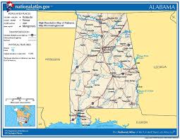 Map Alabama Alabama Civil War History Battles Secession Army Casualties