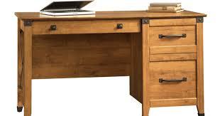 thrilling ideas wood and steel desk shocking desktop pc desk