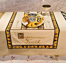 judy chicago dinner table sojourner truth born isabella baumfree was recognized as one of
