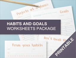 12 goal setting worksheet template ideas templates assistant