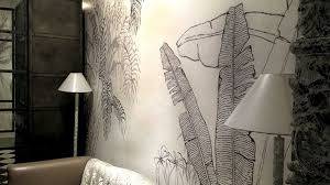 Home Textile Design Studio India Fashion Label Tilla U0027s Wallpapers Are Like Its Clothes Inspired