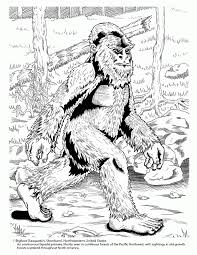 definition free printable bigfoot coloring pages sketch coloring