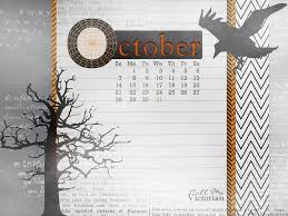 victorian halloween background desktop wallpaper calendar october 2012 call me victorian