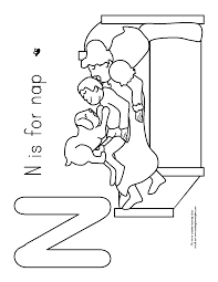 the napping house coloring page coloring home