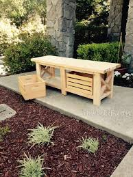 Diy Wooden Storage Bench by Best 25 Wooden Bench Seat Ideas On Pinterest Wooden Dining