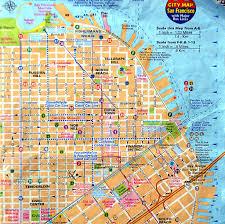 San Francisco Cable Cars Map by Je Vous Ai Mis Le Plan Du Centre Ville De San Francisco Av U2026 Flickr