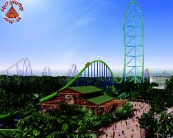 How Many Rides Does Six Flags Have Kingda Ka Cconstruction At Six Flags Great Adventure