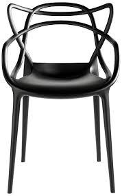 sedia masters kartell prezzo kartell 586609 sedia masters colore nero it casa e cucina