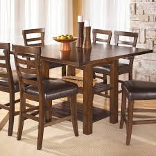 dining room table accessories this handsome pinderton counter height square dining table