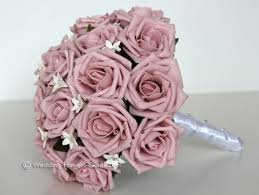 artificial flower bouquets silk bridal bouquets