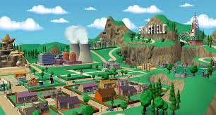Springfield Map Springfield Lego Dimensions Wikia Fandom Powered By Wikia
