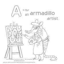 a is for an armadillo artist natalie starfish u2013 author
