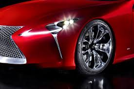 lexus lf lc red lexus lf lc coupe reportedly heading for production