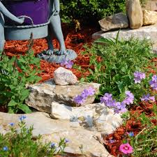 Gardening With Rocks by Landscaping With Rocks Around Your Porch
