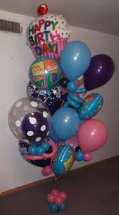 custom balloon bouquet delivery happy birthday flowers column balloon gift bouquets