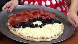 how to make pokemon pizza nerdy nummies youtube