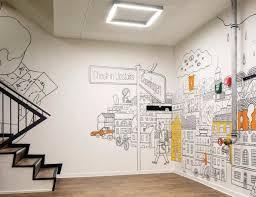 Interior Wall Art Design Best 25 Office Mural Ideas On Pinterest Office Wall Graphics
