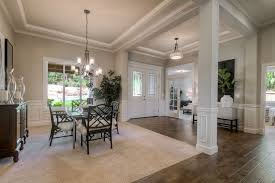 Traditional Dining Room With Carpet  Hardwood Floors In Olympia - Carpet in dining room