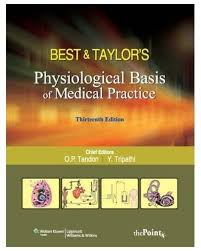 best and taylor u0026apos s physiological basis of medical practice