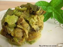 cuisiner les artichauts violets recette tajine d agneau aux artichauts violets fèves et