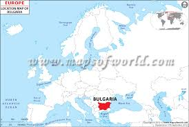 europe world map where is bulgaria location of bulgaria