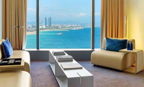 hotel rooms in the w hotel barcelona akommo
