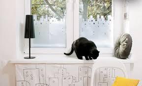 Decorative Curtains Diy Window Treatment Ideas Decorative Film Instead Of Curtain