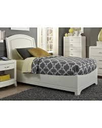 Leather Headboard Platform Bed with New Year U0027s Shopping Savings Liberty Avalon Ii White Truffle