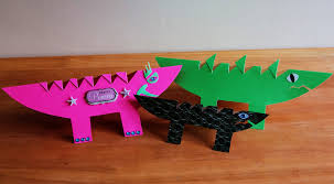 alligator art and craft fun for kids