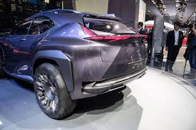 lexus ux model lexus flips the suv inside out with the ux concept at paris 2016