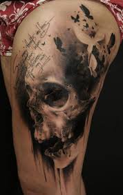 black and gray skull tattoos photo 1 2017 photo